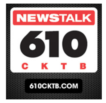 iHeartRadio/ 610 News Talk Radio Interview on the launch of the CrossLake Fibre Build