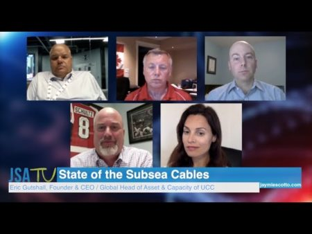 UCC,  Moderates a round table:  The State of Subsea Cables