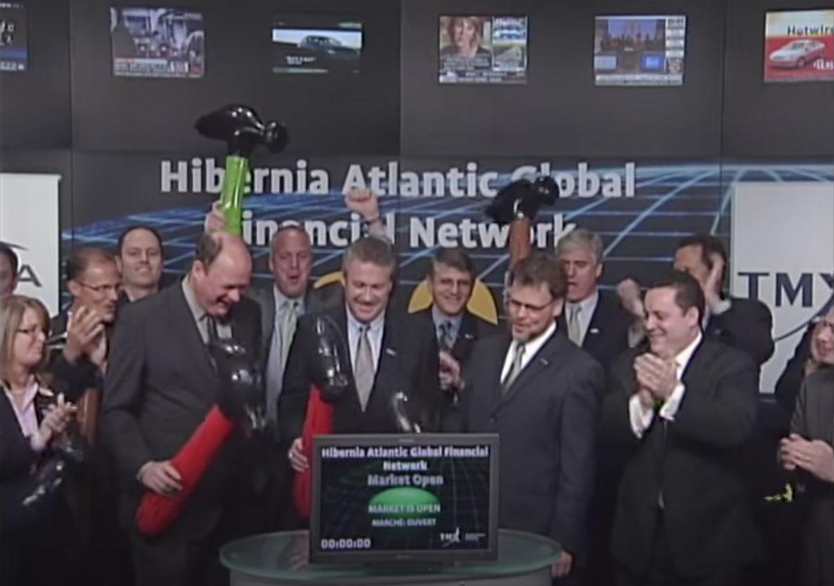 TSX: Toronto Stock Exchange Opening Bell